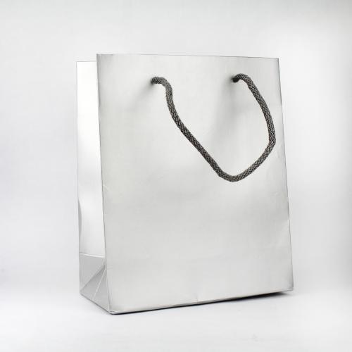 sssSac papier luxe argent 200 gr/m²
